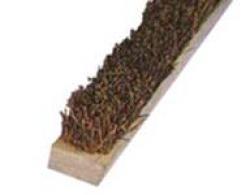 Щетка коричневая жесткая 2-х или 4-х рядные